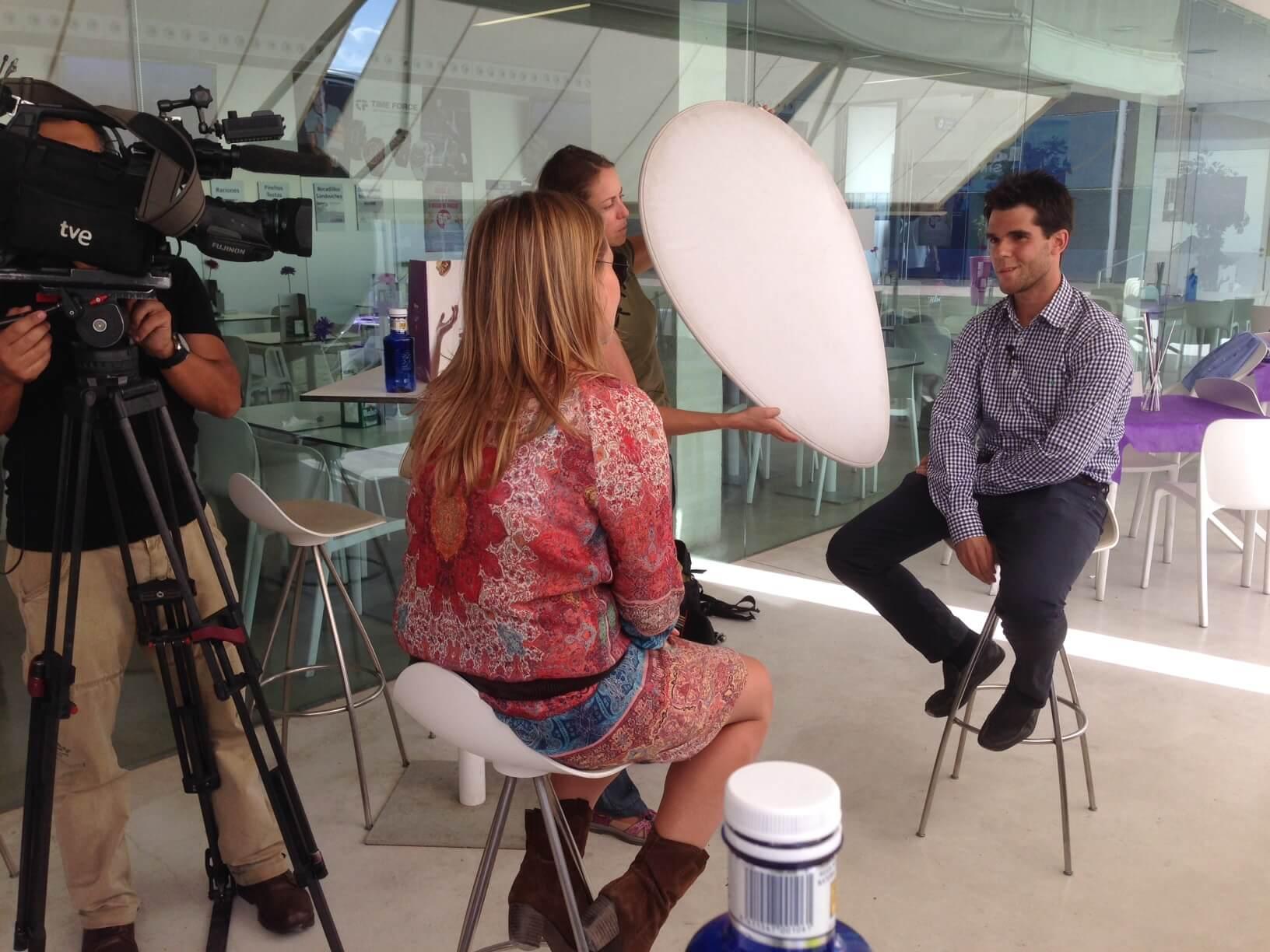 Foto entrevista de Noizze Media