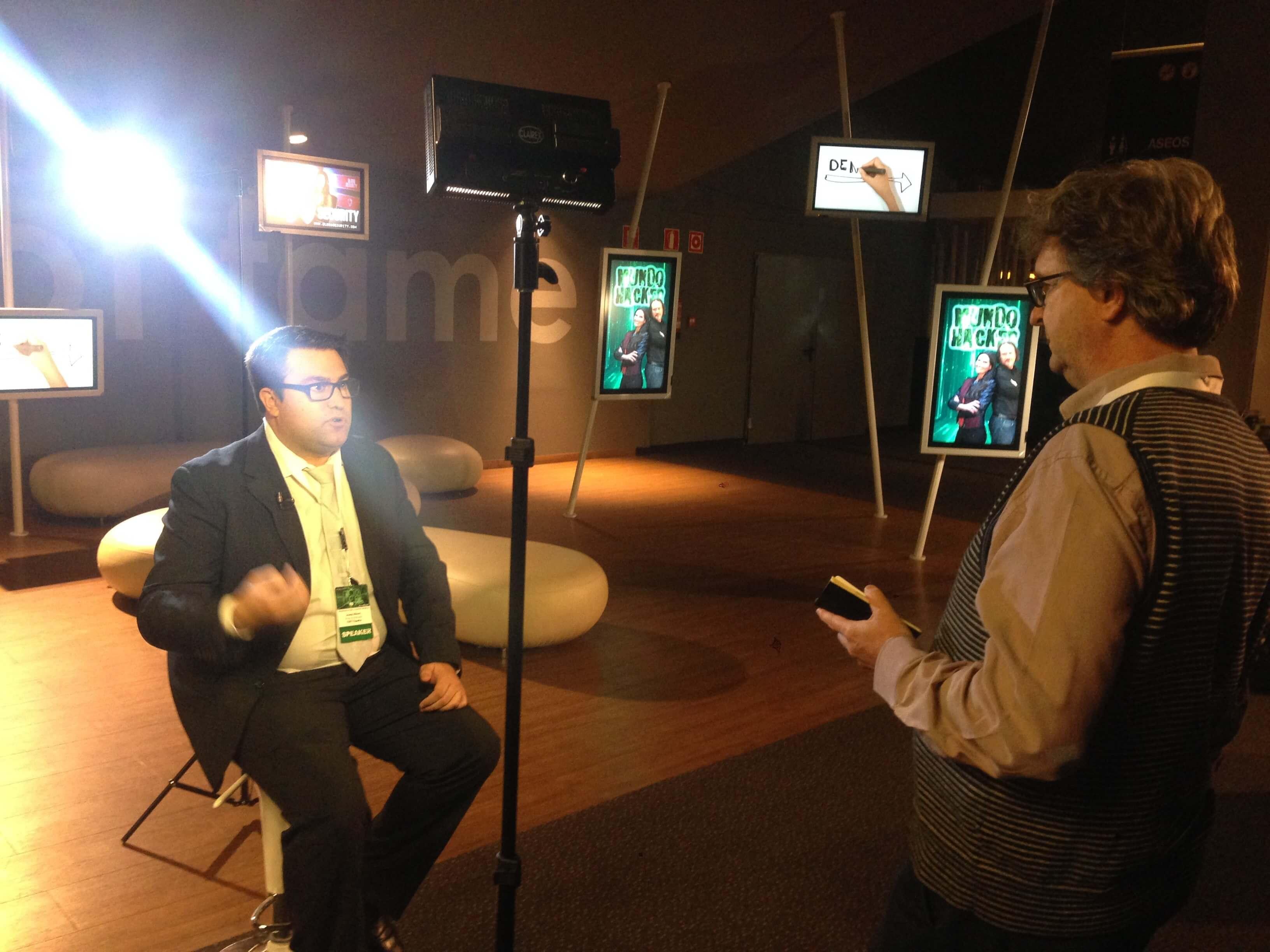 Imagen entrevista sobre la ciberprotección de Noizze Media