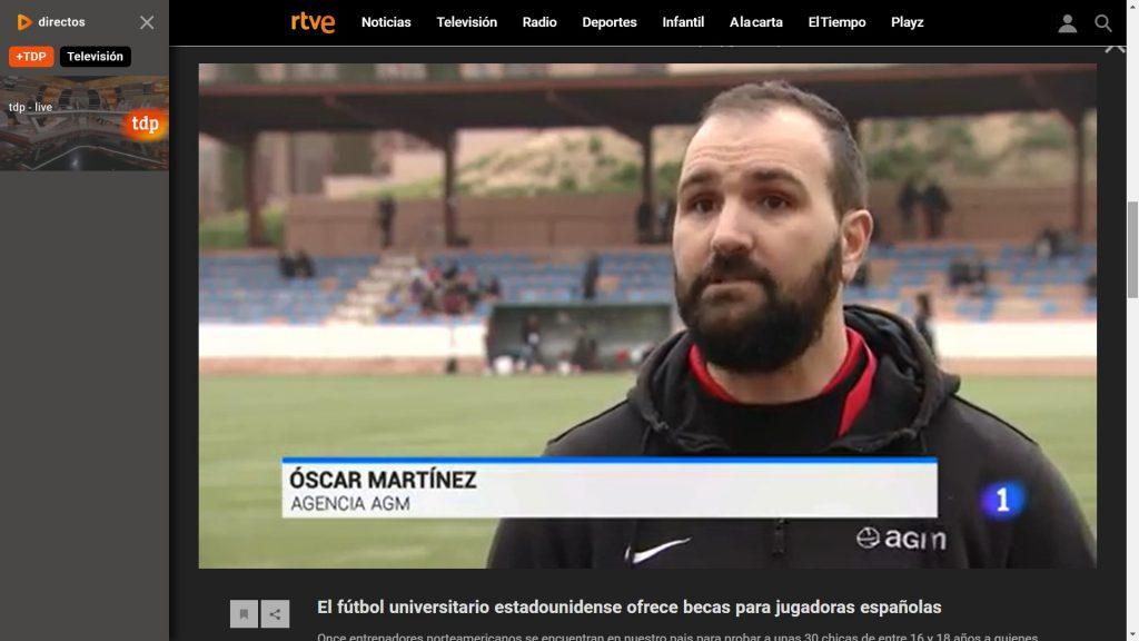 Portavoz de AGM entrevistado en TVE