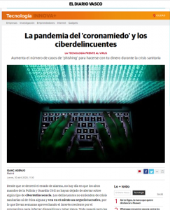 noticia digital en Diario Vasco
