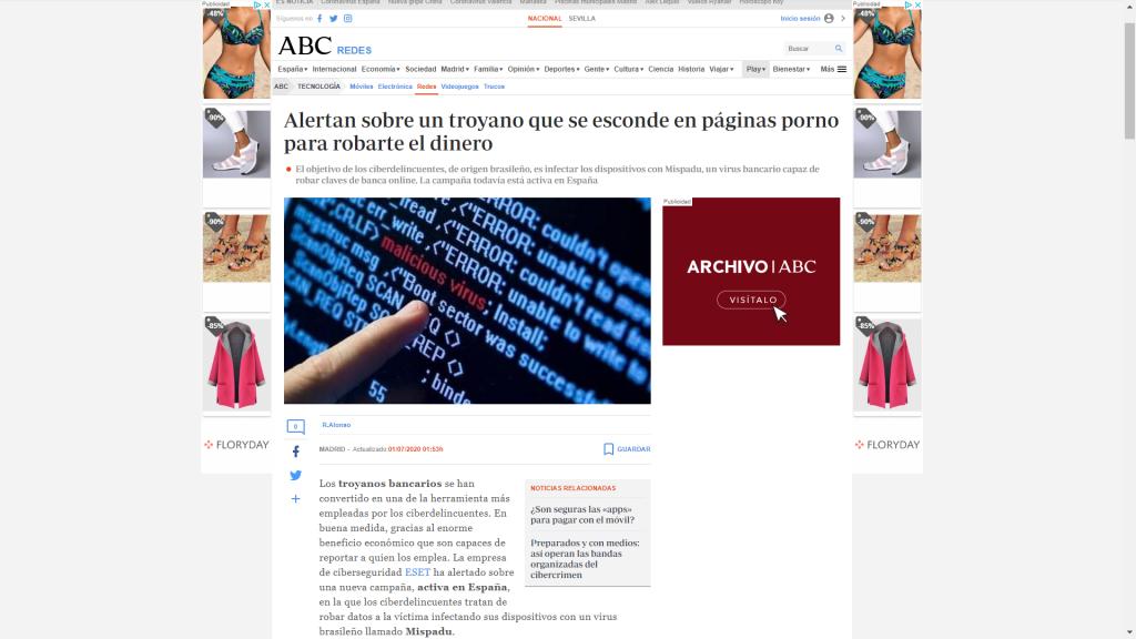 Artículo de ABC